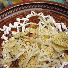 Low Fat Basic Vegetarian Chili