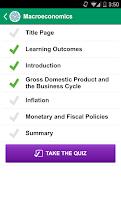 Screenshot of Claritas Study App