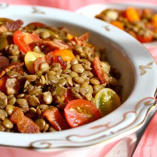 Lentils Bacon Salad Recipes