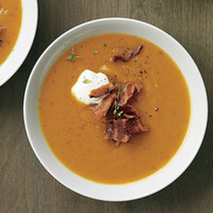 ... star anise and cinnamon sweet potato star anise soup with ginger cream