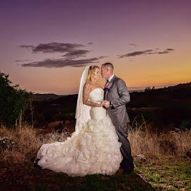 Amber and Sean by Cesar Palima - Wedding Bride & Groom
