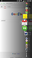 Screenshot of Dock4Droid