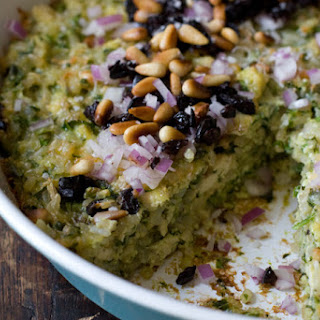 Spinach Rice Gratin