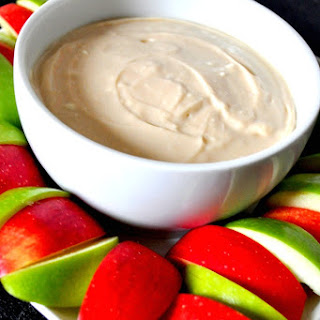 Caramel Cheesecake Dip with Apples {Gluten Free Dessert}