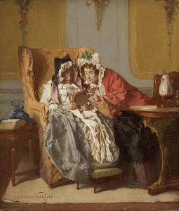 RIJKS: Alexander Hugo Bakker Korff: painting 1866