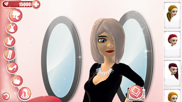 Screenshot of Fashion Show Dress Up Game
