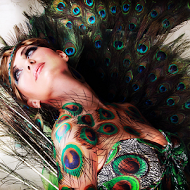 Hanna by Michael John Paulino - People Body Art/Tattoos ( glamour, fashion, body art, portrait, body paint )