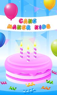 Cake Maker Kids - Cooking Game APK for Bluestacks