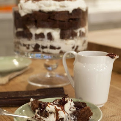 Hot Fudge Sundae Trifle