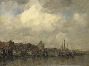 RIJKS: Jacob Maris: painting 1876