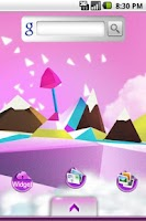Screenshot of Pink and Purple Theme