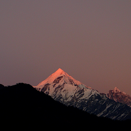 last rays by Arup Chowdhury - Landscapes Mountains & Hills