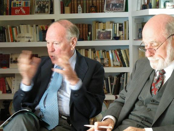 José Luís Pardos con Vinton Cerf