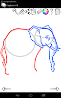 Screenshot of How to Draw: Wild Animals