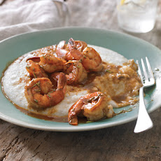 New Orleans-Style BBQ Shrimp & Grits