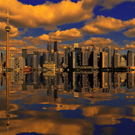 toronto by Christian Heitz - City,  Street & Park  Skylines