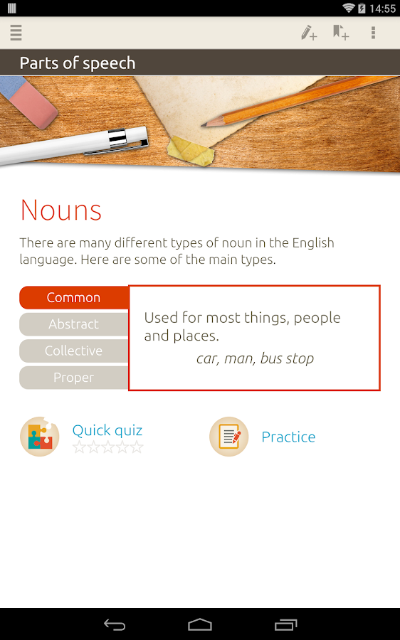 Guide to Grammar - nimbl Screenshot 15