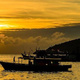 Fisherman boat by Apa Ja - Transportation Boats ( winn erwinn ussdek )