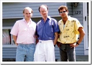 Donavon West, Larry Krough and Bill McVicker (L-R)