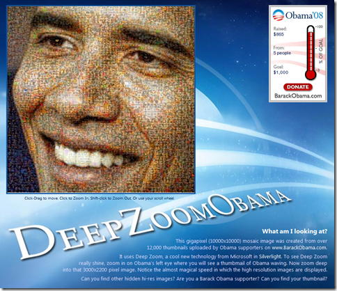 Deep Zoom Obama