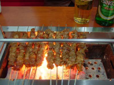 꼬치구이 - 서울 맛집. 초원양꼬치(草原羊肉串)[양꼬치,서울 맛집,초원양꼬치,지존,영등포구청]