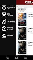 Screenshot of CINEMARK ARGENTINA