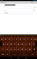 Screenshot of Chocolate Keyboard