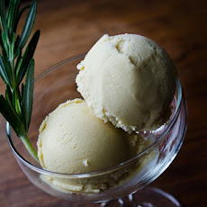 Maple Rosemary Ice Cream