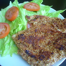 Schnitzel with Garlic Dressed Salad