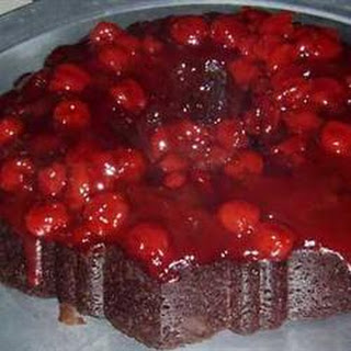 Chocolate Cherry Upside Down Cake Recipes
