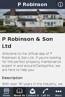 P Robinson & Son Ltd - screenshot
