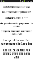 Screenshot of Fonts for FlipFont 50 #3