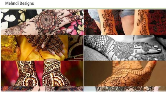 Mehndi Designs Ideas 2015 - screenshot