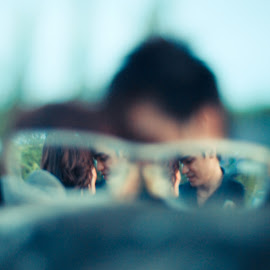 Love in Glasses by Arif PhotoClick - People Couples