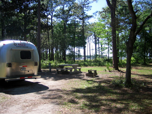 Crooked River SP campsite