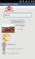 Screenshot of Seeders Calibration Assistant
