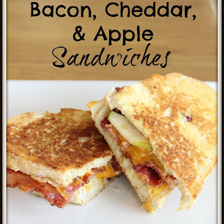 Grilled Bacon, Cheddar, & Apple Sandwiches