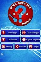 Screenshot of Quem quer ser rico? Música