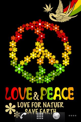 Live Wallpaper RASTA PEACE