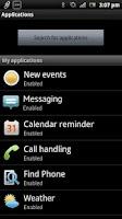 Screenshot of SmartWatch