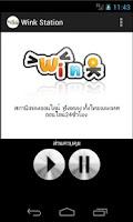 Screenshot of Wink (วิทยุออนไลน์ สตริง สากล)