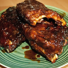 Oven Barbecued St. Louis Style Ribs