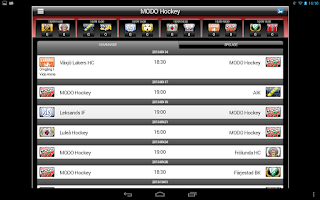 Screenshot of MODO Hockey