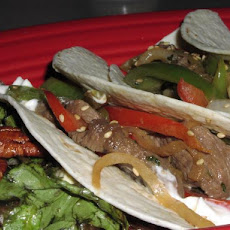 Asian Steak Wraps