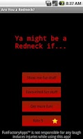 Screenshot of Are You a Redneck?