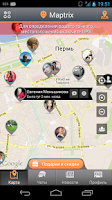 Screenshot of Maptrix
