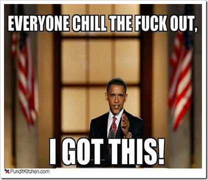 Obama   Chill Out