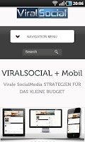 Screenshot of ViralSocial