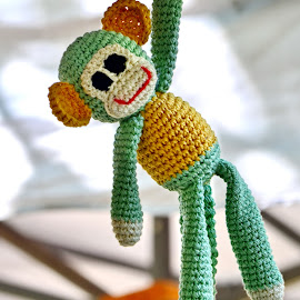 Ready III by Iulia Breuer - Artistic Objects Toys ( toy, hand made, monkey )