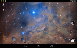 Screenshot of Galaxy Nebula Live Wallpaper
